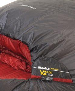 ONE PLANET bungle sleeping bag detail body