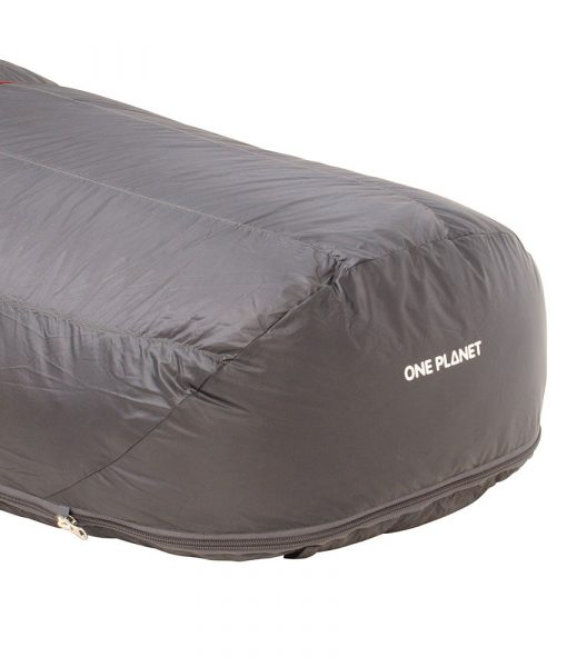 ONE PLANET bungle sleeping bag detail footer