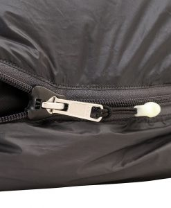 ONE PLANET bungle sleeping bag detail zip