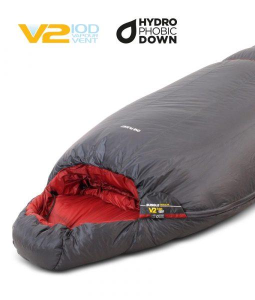 ONE PLANET bungle sleeping bag hero detail