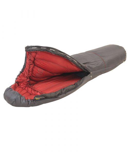 ONE PLANET bungle sleeping bag open