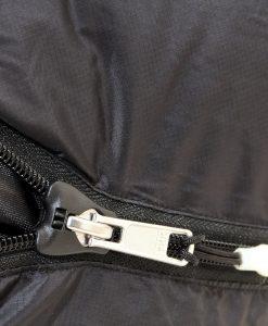 ONE PLANET winterlite sleeping bag detail zip