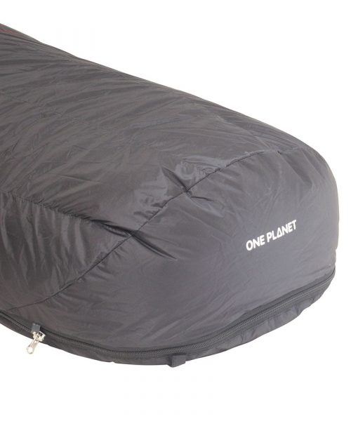 ONE PLANET bushlite sleeping bag detail foot