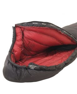 ONE PLANET bushlite sleeping bag detail open