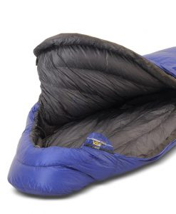 ONE PLANET cocoon sleeping bag detail open