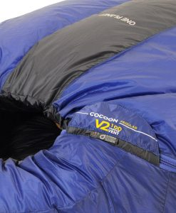 ONE PLANET cocoon sleeping bag detail body