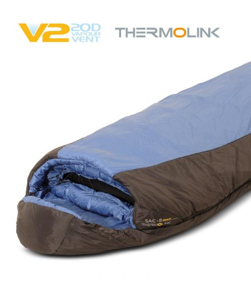 SAC synthetic sleeping bag ONE PLANET detail hero