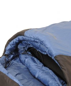SAC synthetic sleeping bag ONE PLANET detail hood