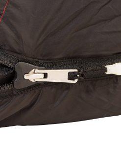 ONE PLANET camplite sleepign bag detail zip