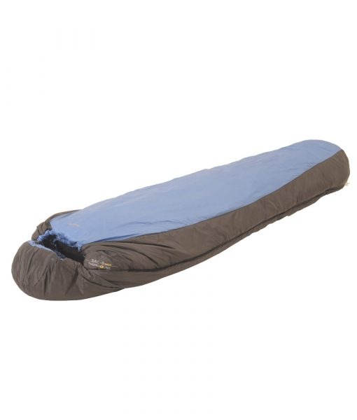 SAC synthetic sleeping bag ONE PLANET hood cinched