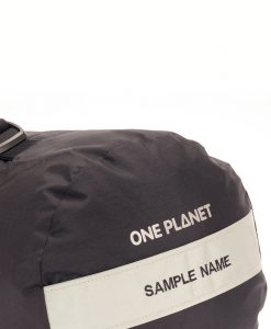 ONE PLANET compression stuff sack Sample Name embroidery