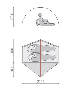 Ridgeback-tent-dimensions
