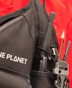 ONE PLANET double radio harness detail