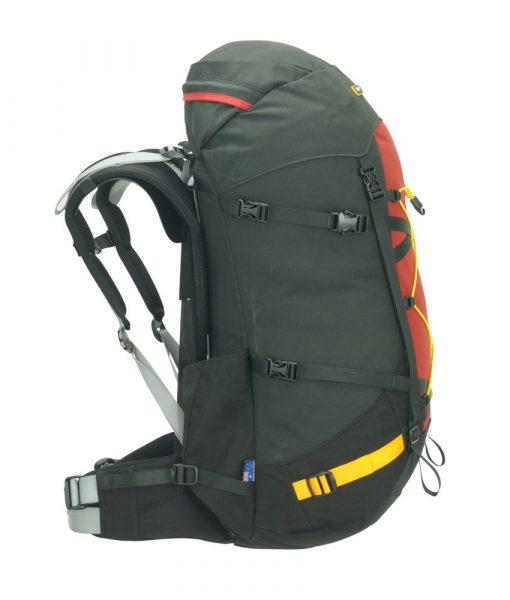 Vertex hiking pack side
