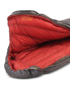ONE PLANET Nitrous Sleeping bag detail of hood open