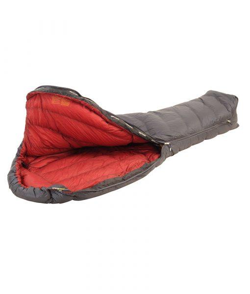 ONE PLANET Nitrous Sleeping bag open