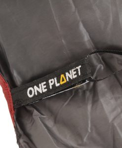 ONE PLANET quest zero quilt detail tab and loop