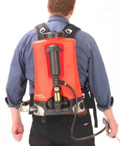 ONE PLANET Birchmeier Sprayer Harness New style on person