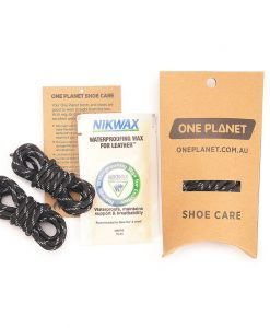 ONE PLANET Shoe Care Kit showing contents