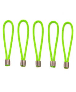 ONE PLANET Zipper Pull set of 5 in green