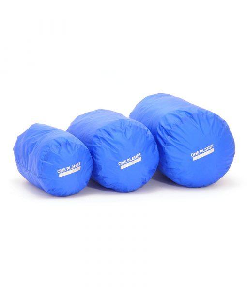 ONE PLANET stuff sack set 4L 8L12L Blue