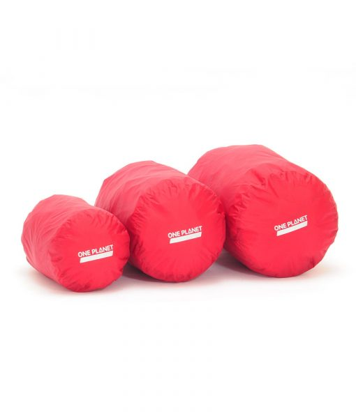 ONE PLANET stuff sack set 4L 8L12L Red