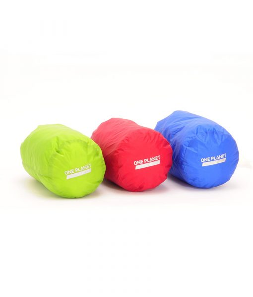 ONE PLANET stuff sack set 4L Green Red Blue