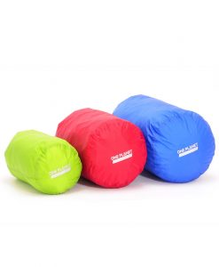 ONE PLANET stuff sack set multicolour 4L Green 8L Red 12L Blue
