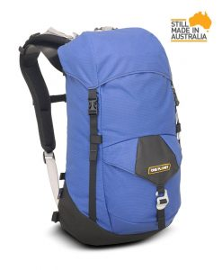ONE PLANET zipless daypack in pacific blue