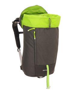 Rock day pack open
