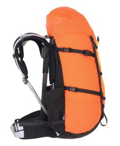 Extrovert pack hiking side